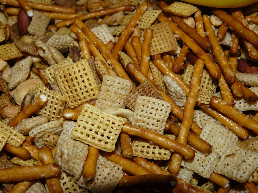 Homemade Chex Snack Mix