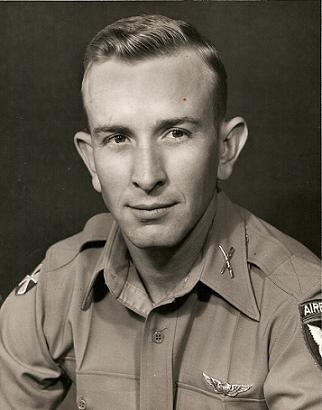 1st LT Smith in 1954 - 11th Airborne Division