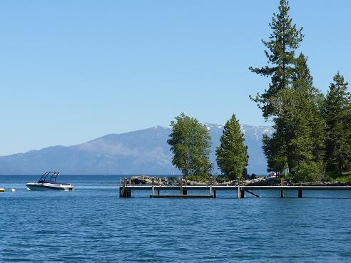 Lake Tahoe, on the California Side