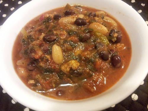 Healthy Vegetarian Mixed Bean Soup Recipe by Healthy Diet Habits