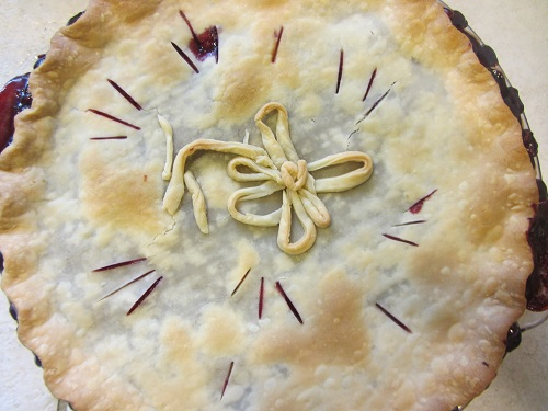 Berry Pie with Lemon
