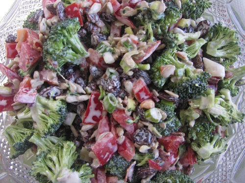 Broccoli Salad Recipe from Healthy Diet Habits