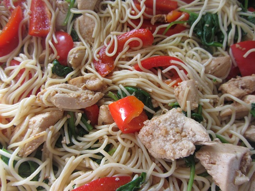 Chicken Pasta Recipe by Healthy Diet Habits
