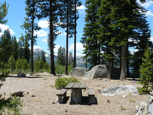 Donner Memorial State Park in Truckee, California