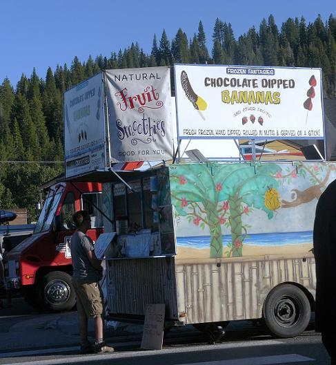 Food at Truckee Thursdays in Truckee, California