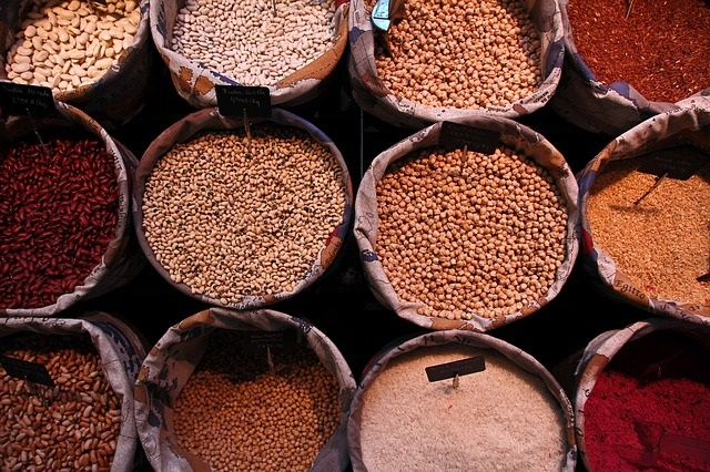 Bulk Bins at a Grocery Store - Tips for Buying in Bulk by Healthy Diet Habits