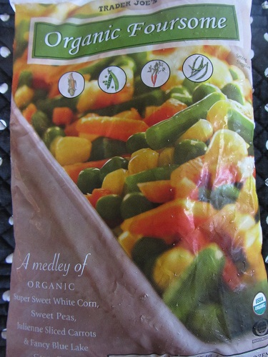 Buy frozen organic produce