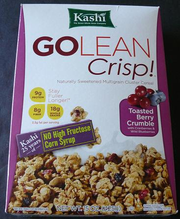 Healthy Breakfast Cereals Can Be Confusing - Tips from Healthy Diet Habits Pictured: Kashi Go Lean Crisp Cereal