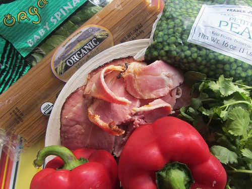 Simple Ham Pasta Recipe - Ingredients