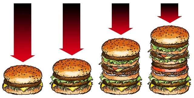 Fast Food Portions are out of control - Info/Tips from Healthy Diet Habits.