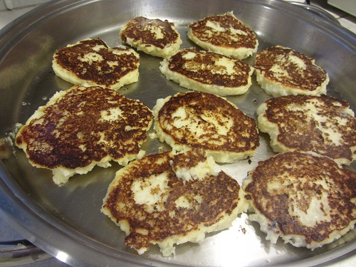 Potato Pancakes Browning