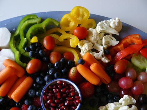 Healthy Fruits and Veggies for a Super Bowl Party