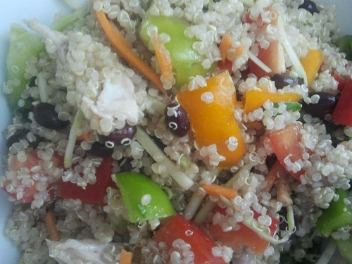Quinoa Salad - High Fiber Foods