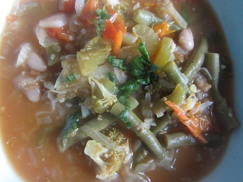 Healthy Diet Habits Refrigerator Soup Recipe