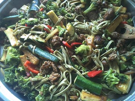 Sausage Veggie Pasta Recipe by Kerry Bacon