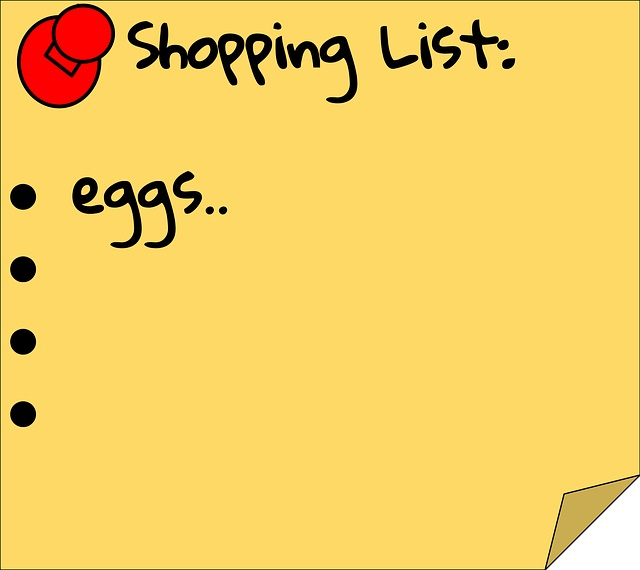 Healthy Grocery Shopping List by Healthy Diet Habits