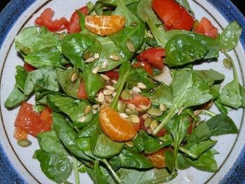 Spinach Salad - Recipe by Leigh Storz