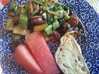 Italian Sausage Stir Fry from Healthy Diet HabitsRecipes
