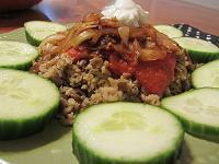 Egyption Lentils and Rice Recipe (Kusherie)