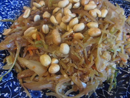 Cabbage Stir Fry Recipe from Healthy Diet Habits