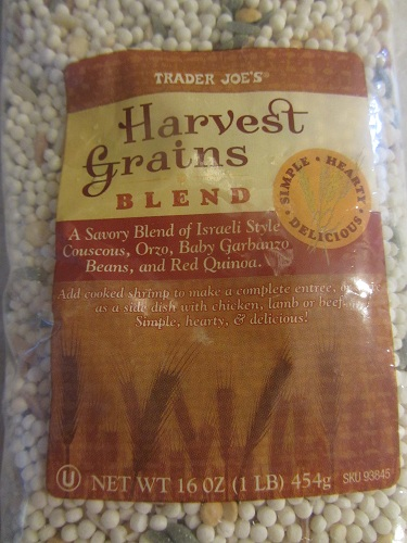 Trader Joe's Harvest Grains Blend