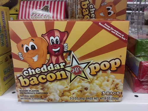 Processed Foods are NOT a Healthy Diet Habit! The more that you limit processed foods, the easier weight control will be for you! Pictured: Cheddar Bacon Popcorn