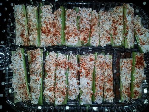 Fall Snacking Celery Sticks