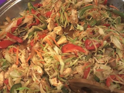 Chicken Stir Fry Recipe from Healthy Diet Habits
