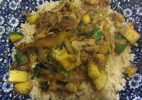 Chicken and Zucchini Stir Fry Recipe from Healthy Diet Habits