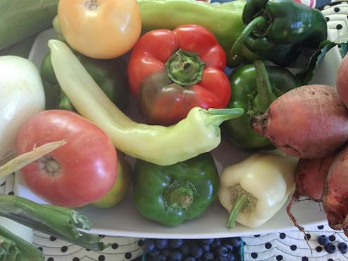 Vegetable Guidelines - Pictured: Farmers Market Vegetables