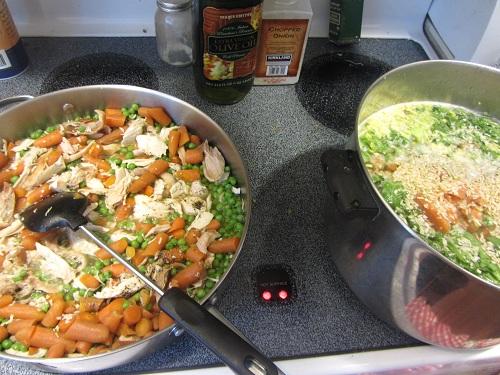 Make broth and stew