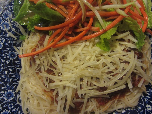 Healthy Spaghetti from Healthy Diet Habits