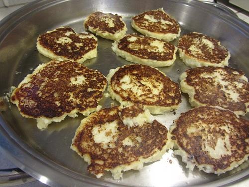 Potato Pancakes Browning