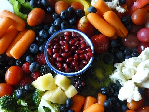 Healthy Produce Tray by Healthy Diet Habits