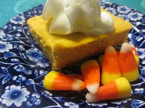Pumpkin Cheesecake Bar