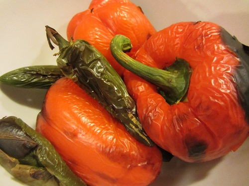 Roasted Peppers - Info. from Healthy Diet Habits