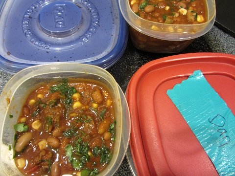 Slow Cooker Chili Leftovers