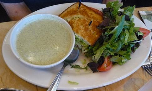 Soup, Sandwich, and Salad - Healthy Lunch ideas from Healthy Diet Habits