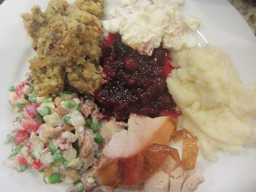 Pea Salad Holiday Meal