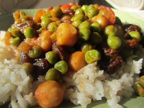 Vegetarian Curry Recipe from Healthy Diet Habits