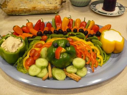 Veggie Turkey for Thanksgiving