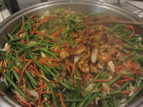 Yakisoba in Pan w Meat