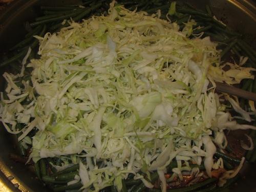 Yakisoba Vegetables