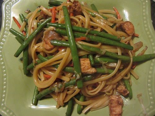 Stir Fry that can be made with Leftover Turkey